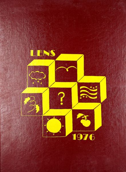 1976 Washington High School Yearbook Cover