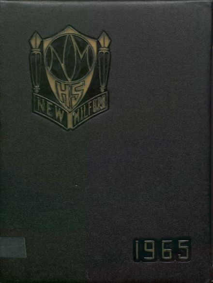 1965 New Milford High School Yearbook Cover
