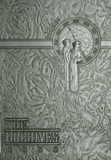 1955 Everett High School Yearbook Cover