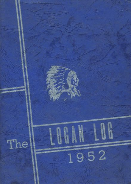 1952 Armagh Brown Joint High School Yearbook Cover
