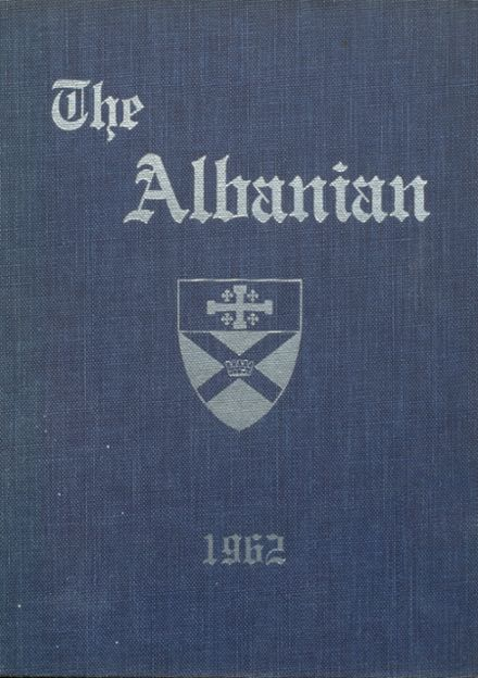 1962 St. Albans High School Yearbook Cover