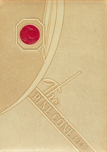1947 Rapid City Central High School Yearbook Cover