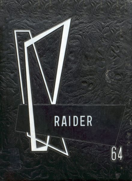 1964 Mead High School Yearbook Cover