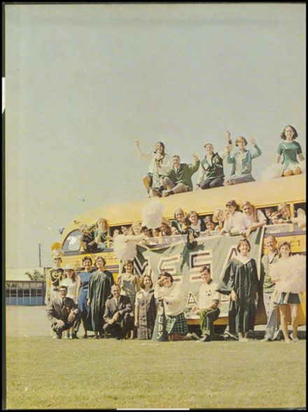 1967 Costa Mesa High School Yearbook Page 2