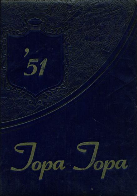 1951 Nordhoff High School Yearbook Cover