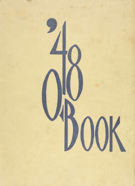 1948 Central High School Yearbook Cover