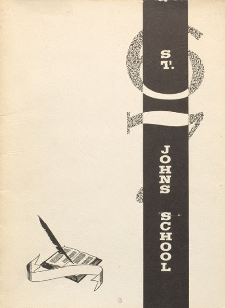 1967 St. John's High School Yearbook Cover