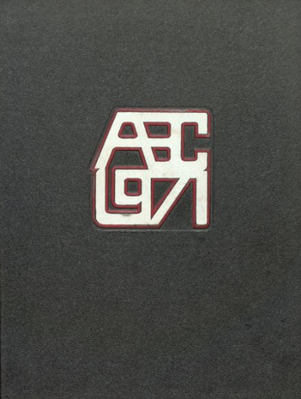 1971 Archbishop Carroll High School Yearbook Cover