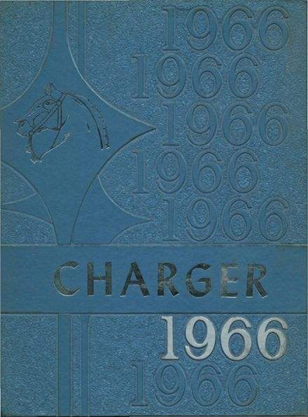 1966 Crowley County High School Yearbook Cover
