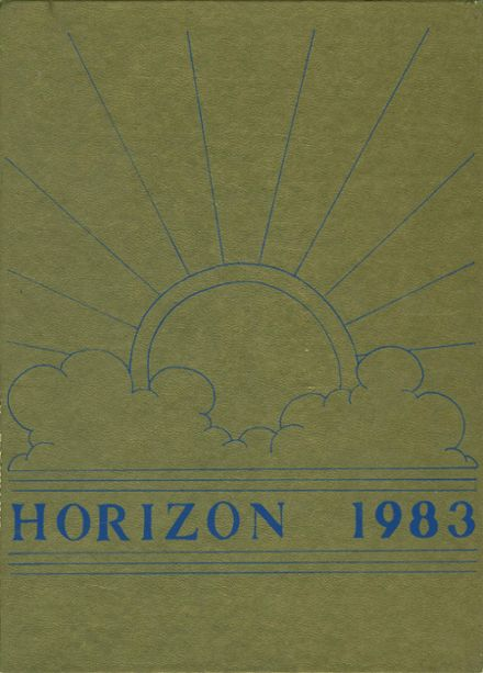 1983 Lake Park High School Yearbook Cover