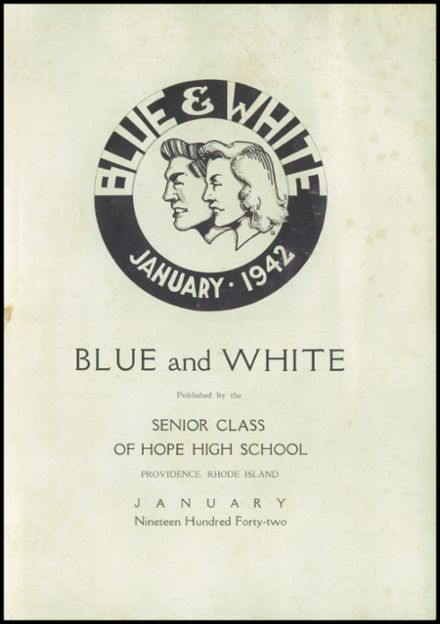 1942 Hope High School Yearbook Page 3