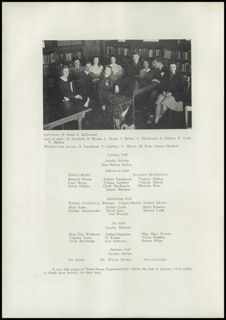 1942 Hope High School Yearbook Page 4