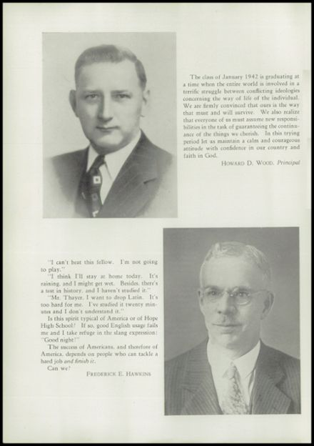 1942 Hope High School Yearbook Page 6