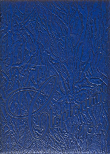 1961 Clopton High School Yearbook Cover