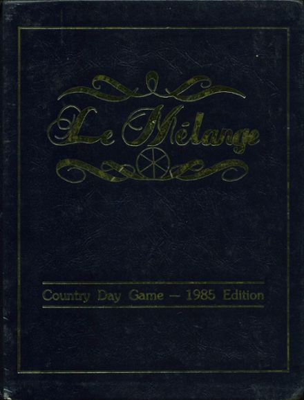 1985 Metaire Park Country Day Yearbook Cover