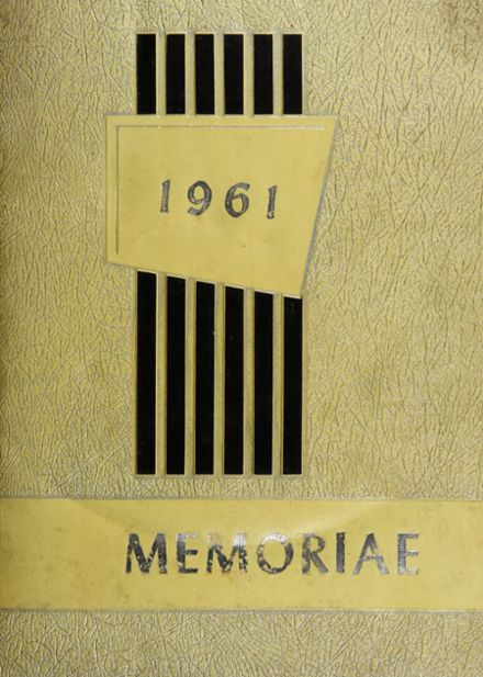 1961 East Pennsboro Area High School Yearbook Cover