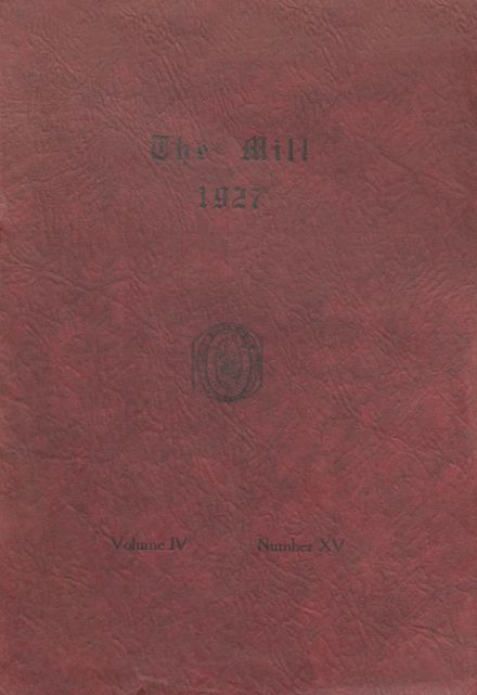 1927 Le Mars Community High School Yearbook Cover
