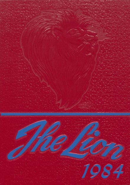 1984 Durant High School Yearbook Cover