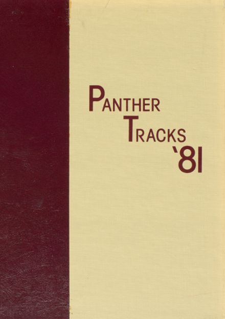 1981 Putnam City North High School Yearbook Cover