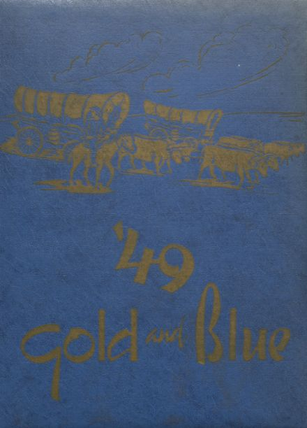 1949 Mitchell High School Yearbook Cover