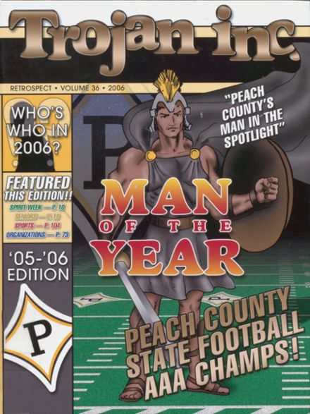 2006 Peach County High School Yearbook Cover
