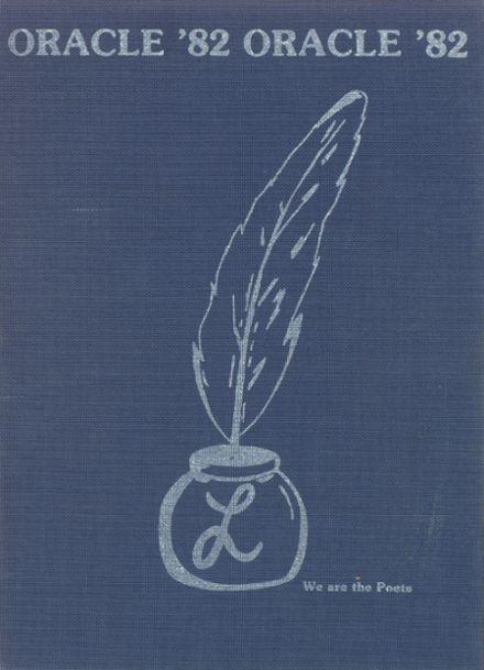 1982 Lanier High School Yearbook Cover