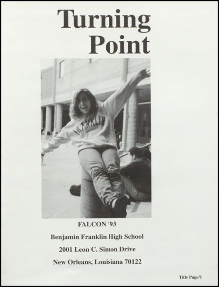 1993 Benjamin Franklin High School Yearbook Page 5