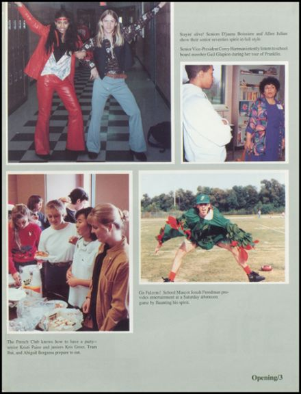 1993 Benjamin Franklin High School Yearbook Page 7