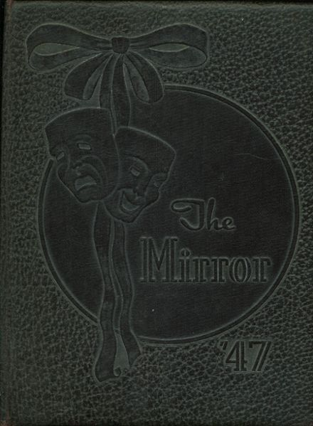 1947 Manual High School Yearbook Cover