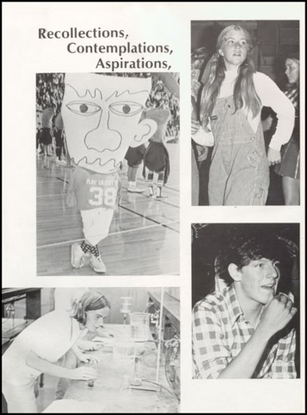 1973 W.B. Ray High School Yearbook Page 6