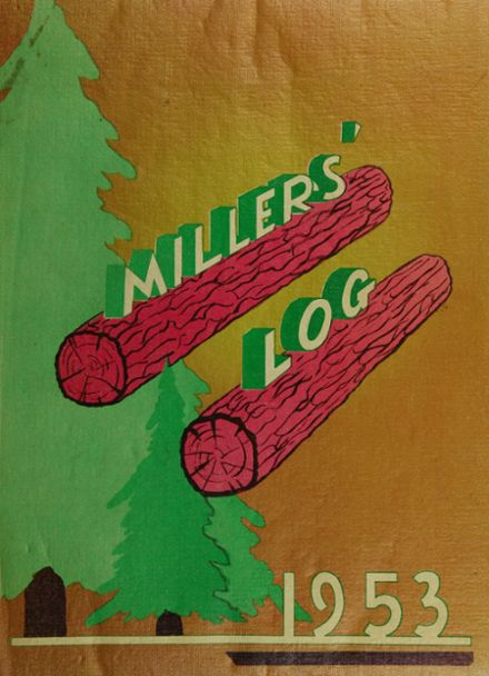 1953 Springfield High School Yearbook Cover