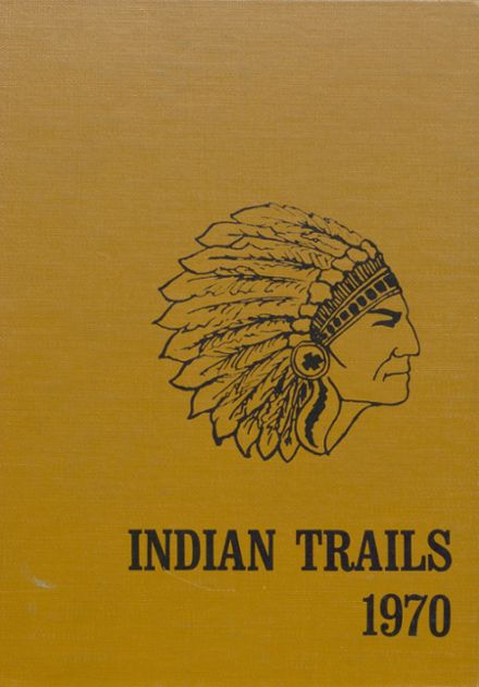 1970 Indianola High School Yearbook Cover