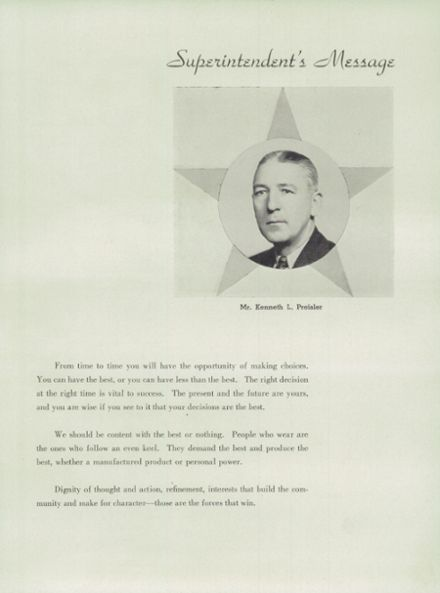 1946 Columbia High School Yearbook Page 9