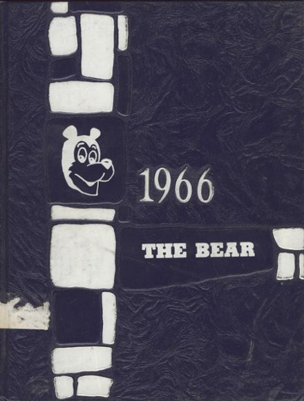 1966 Central Valley High School Yearbook Cover
