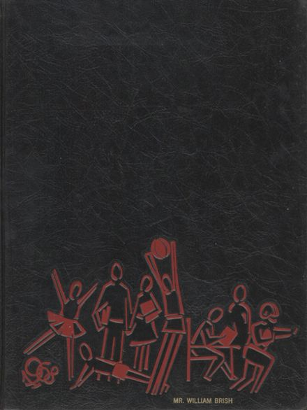 1968 Hagerstown High School Yearbook Cover