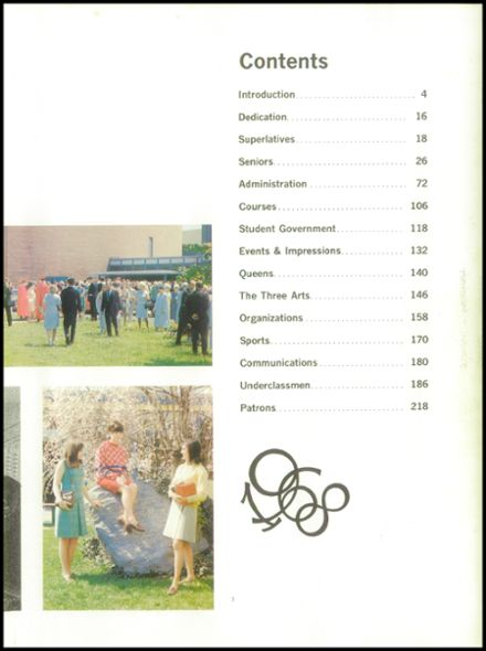 1968 Hagerstown High School Yearbook Page 7