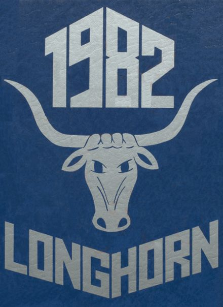 1982 Ft. Cobb High School Yearbook Cover