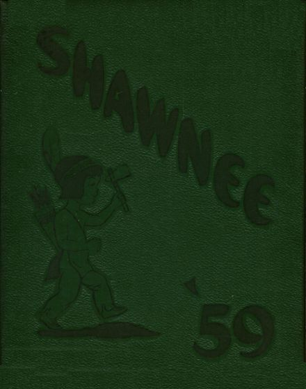 1959 New Cumberland High School Yearbook Cover
