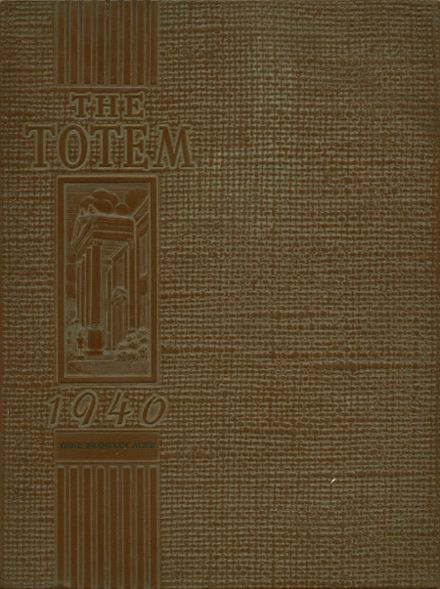 1940 South Side High School Yearbook Cover