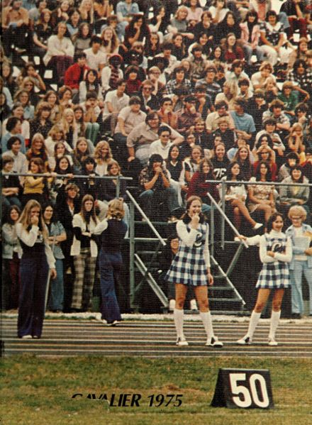 1975 Carroll High School Yearbook Cover