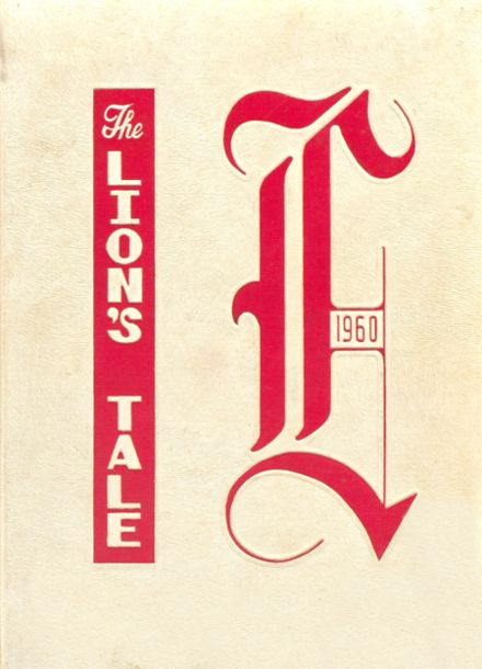 1960 Leon High School Yearbook Cover