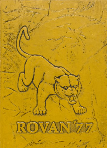 1977 ROWVA High School Yearbook Cover