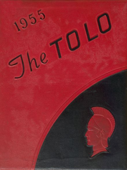 1955 Toulon High School Yearbook Cover