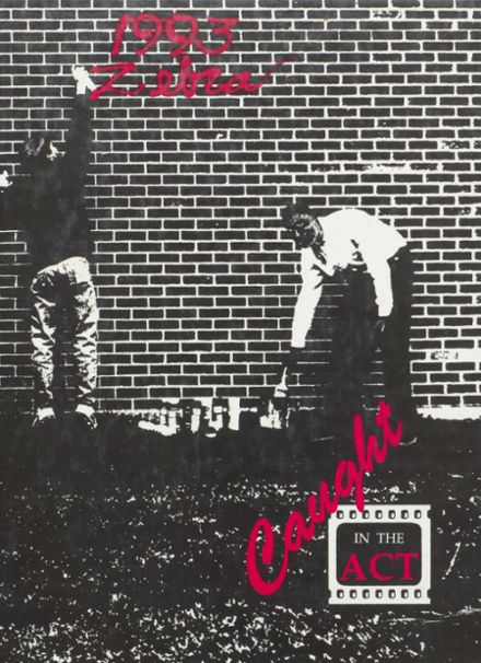 1993 Pine Bluff High School Yearbook Cover