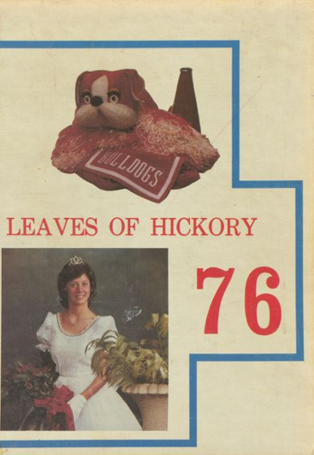 1976 Dupont High School Yearbook Cover