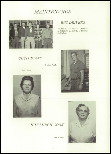 1965 Rosendale High School Yearbook Page 9
