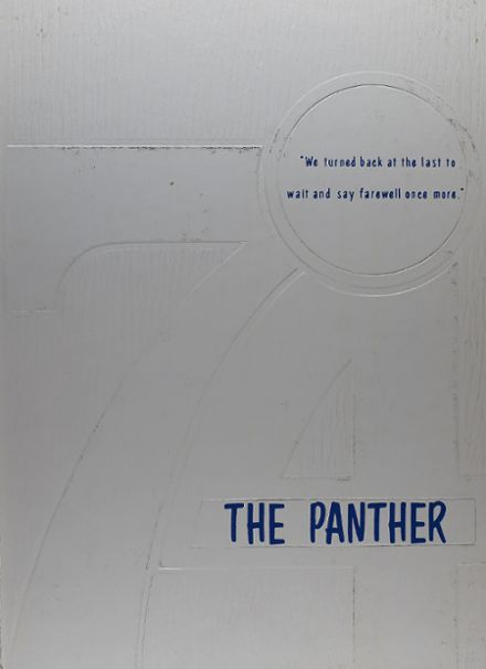 1974 Greenbrier High School Yearbook Cover
