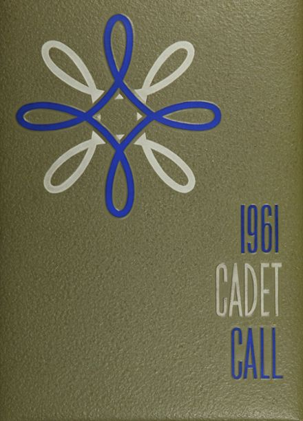 1961 Bishop Quarter Junior Military Academy Yearbook Cover