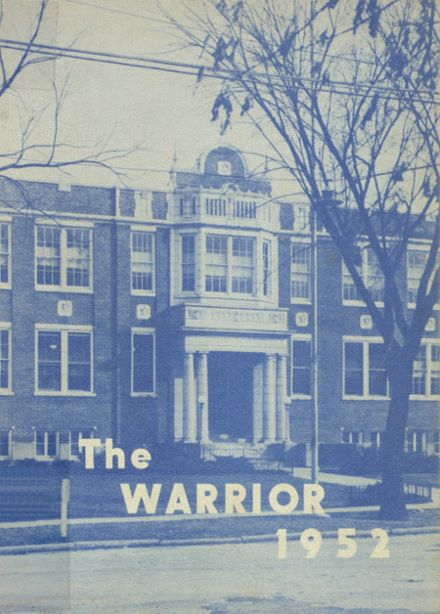 1952 McHenry Community High School Yearbook Cover