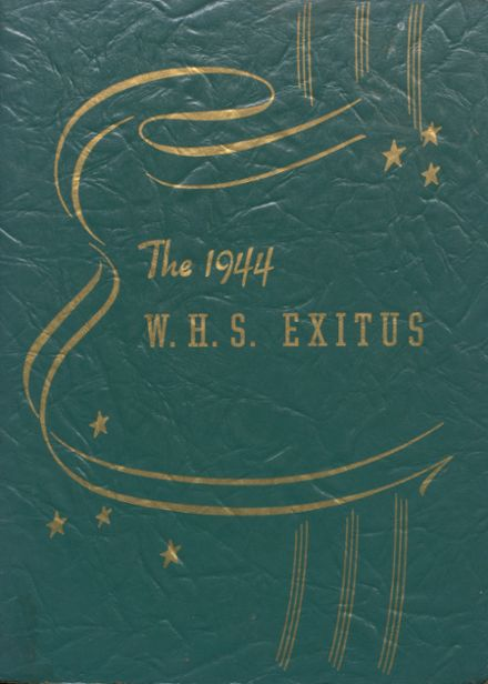 1944 Windsor High School Yearbook Cover
